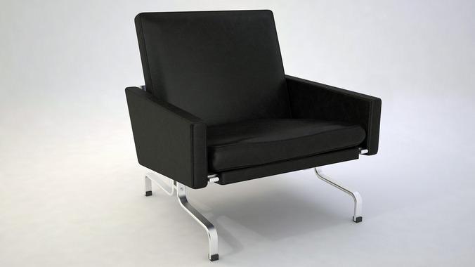 Pk31 design chair 3d model max obj 3ds fbx dxf dwg for New model chair design