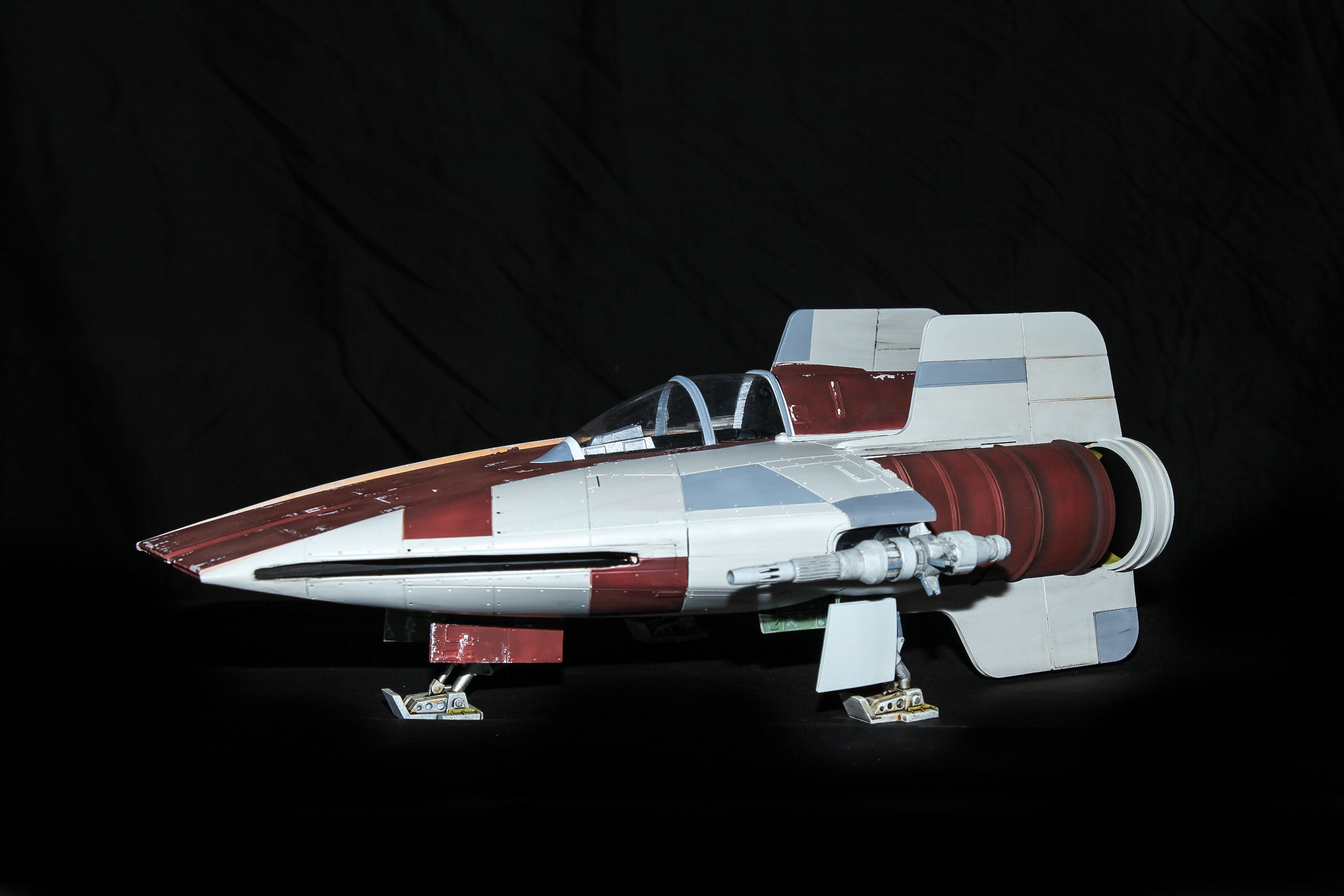 Star Wars A-Wing fighter