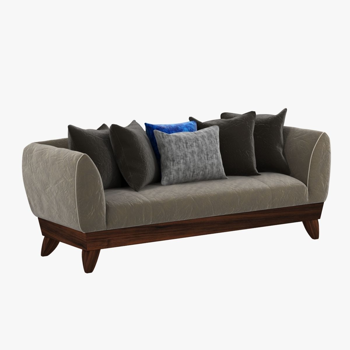Custom Made Sofa 3d Model Max Obj 3ds Fbx