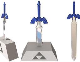 3d master sword zelda oot