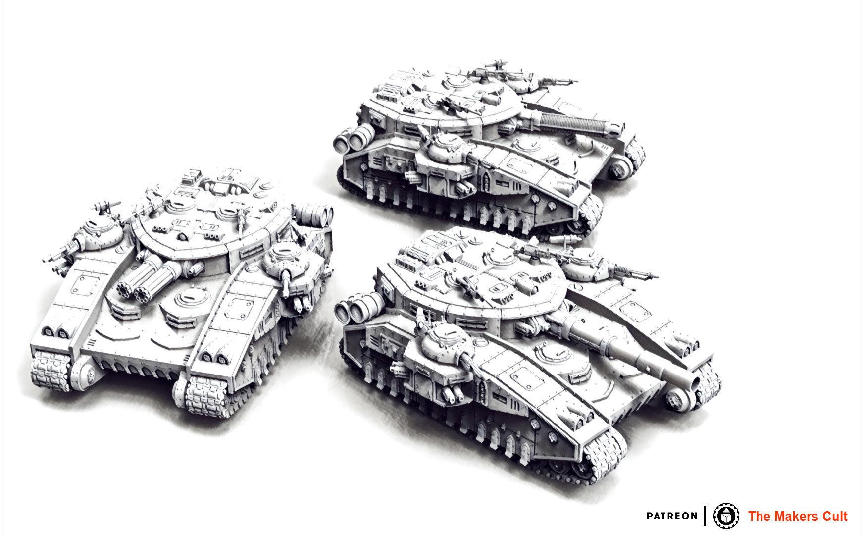 Feudal Guard Super Battle Tank Destroyer