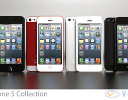 3D Apple iPhone 5 Collection