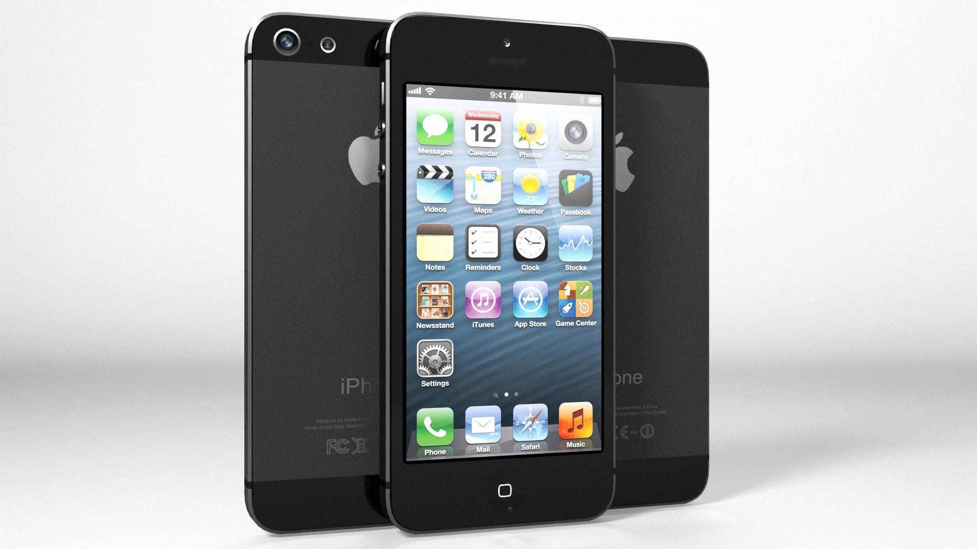 iPhone 5 Black Edition Black Silver Vray