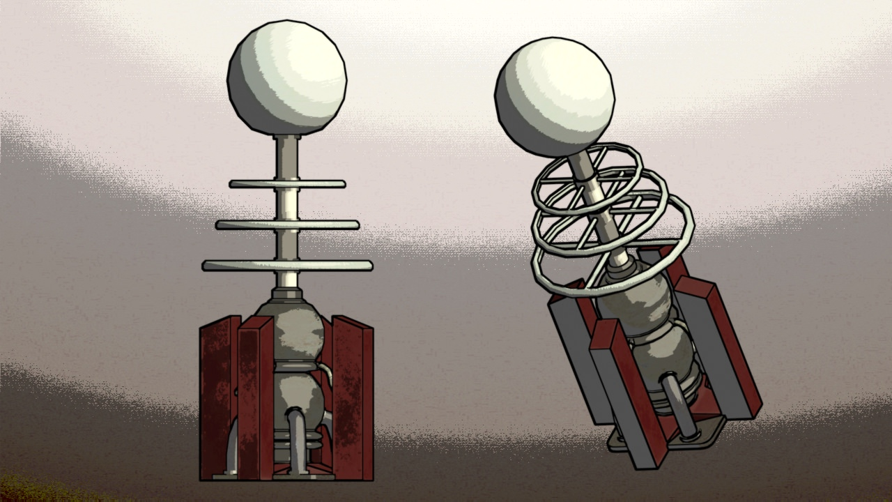 Tesla Coil Tower 3d Model Game Ready Max Obj 3ds Fbx