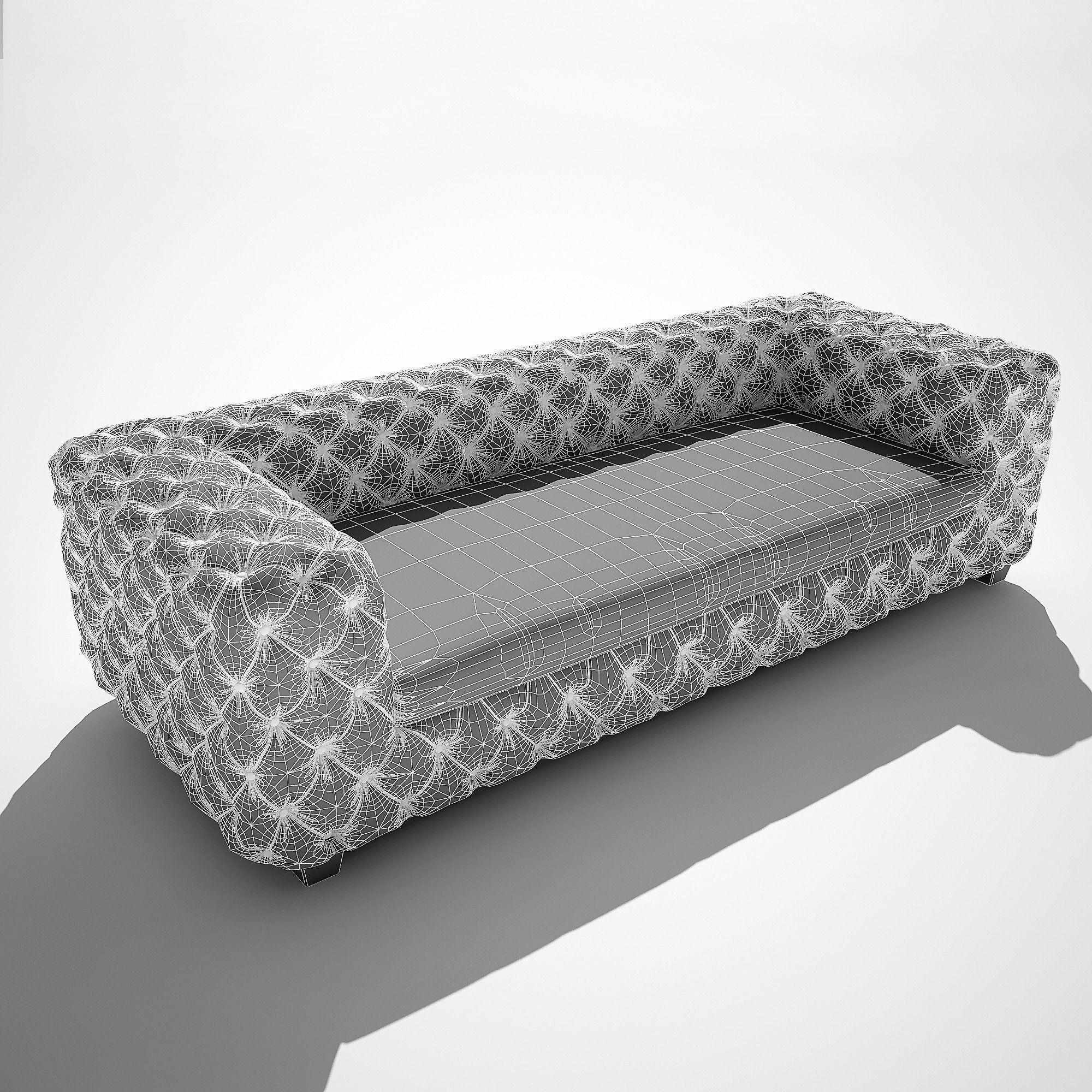 ... Sofa Desire Kare Design 3d Model Max Obj Fbx Mtl 8 ...