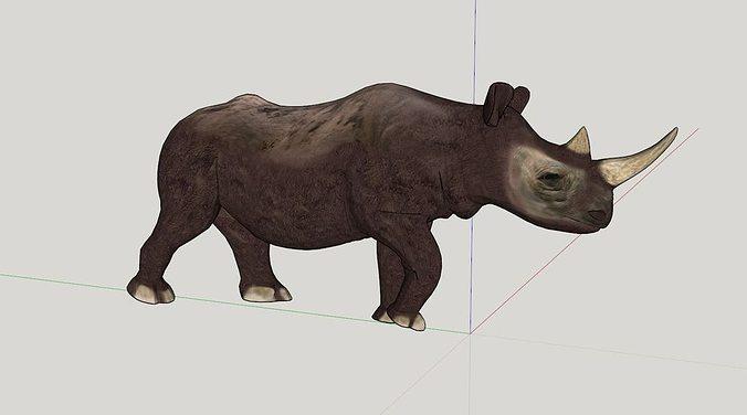 Rhino Free 3D print model