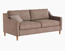 3D West Elm Paidge Sofa
