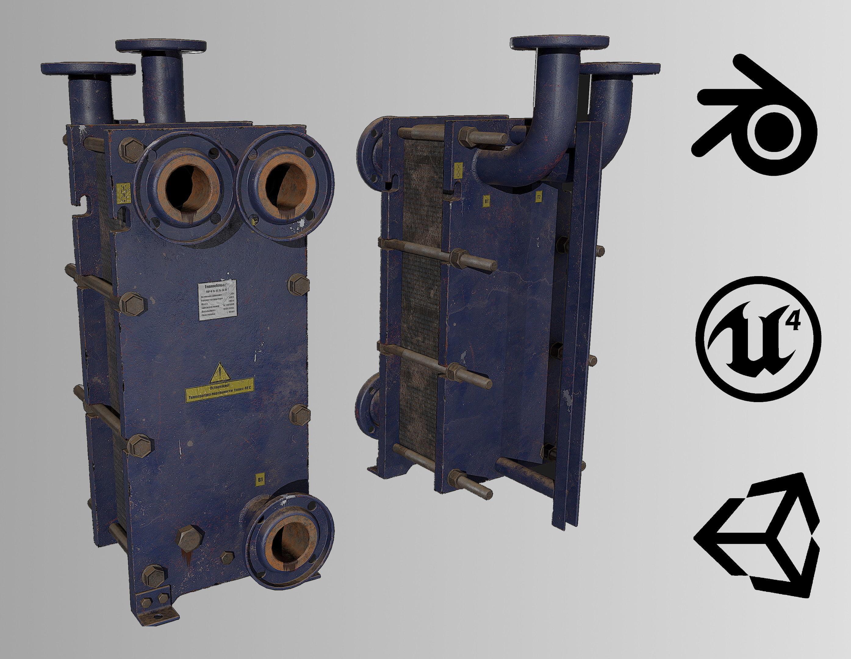 Old russian medium Heat Exchanger