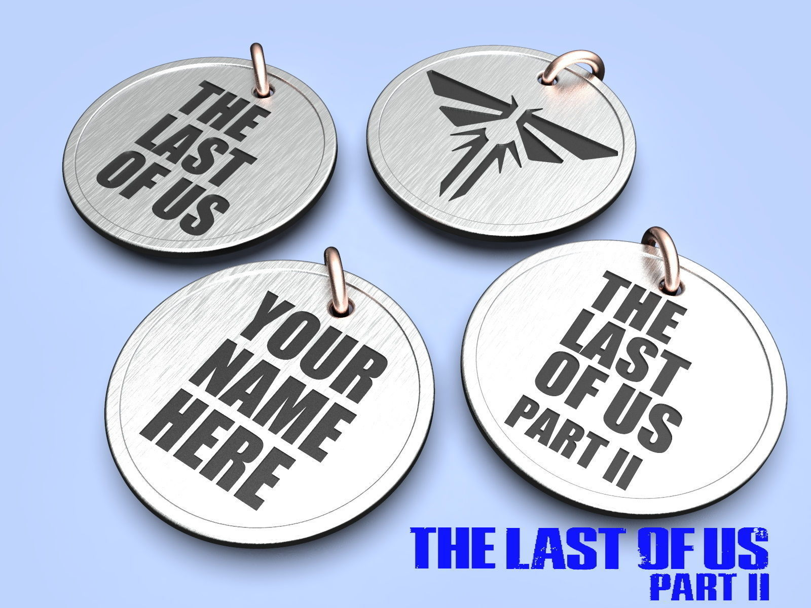 The Last of Us Game Medallion Set