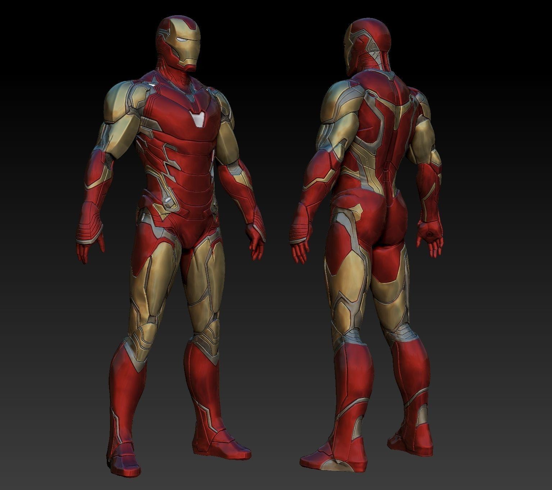 Iron Man MK85 Statue