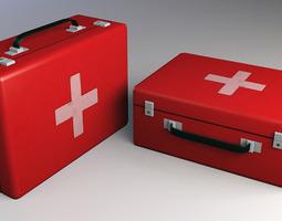 3D asset Medkit Low Poly