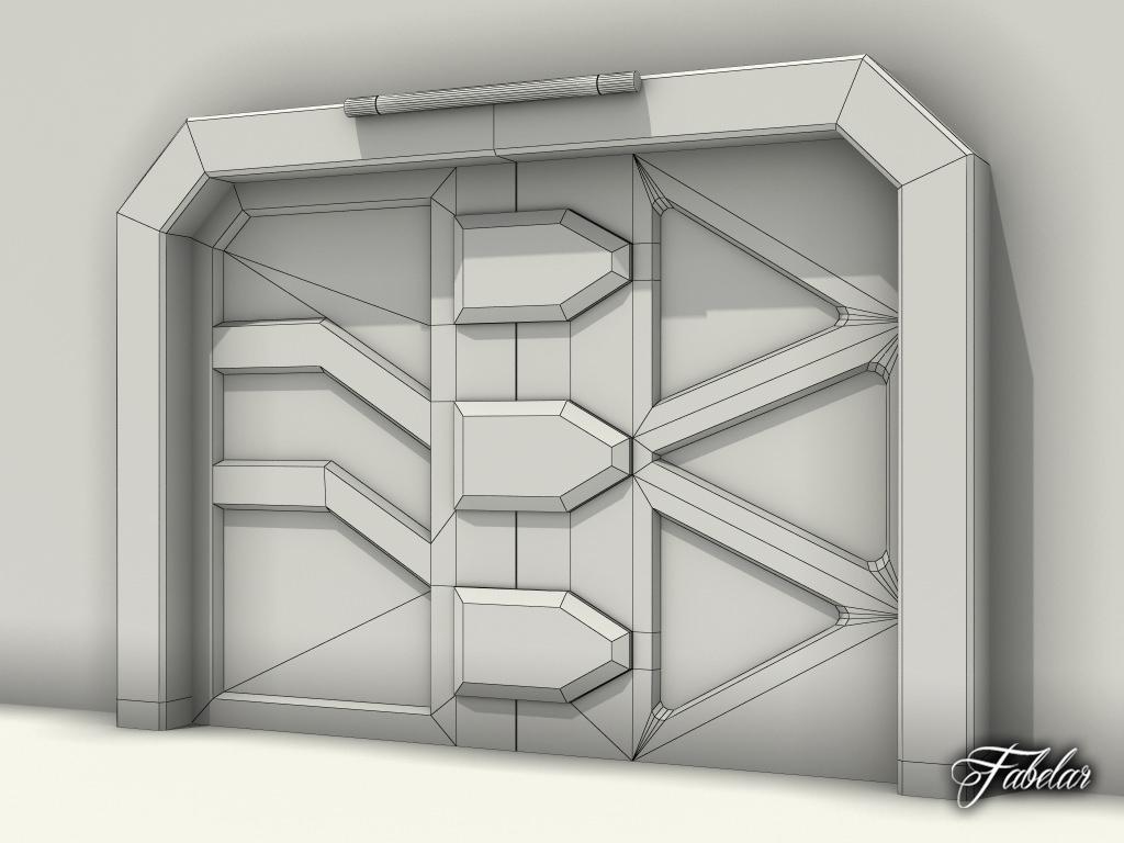 Airlock Door 3d Model Max Cgtrader Com