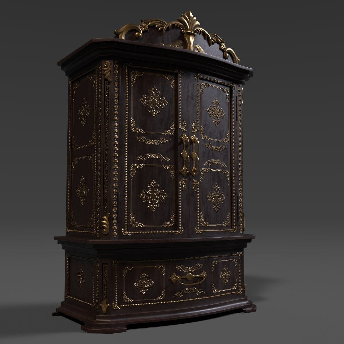 French Armoire - 6 versions