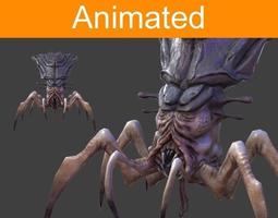Character Arachnid 3D Model