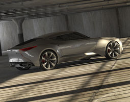 Hyundai HND-9 and garage 3D