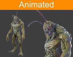 Character Hexapod 3D Model