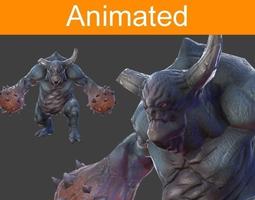 Character Juggernaut 3D Model