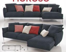 3D Moroso Gentry GE0C51 Sofa