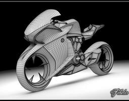 HONDA V4 concept bike 3D Model