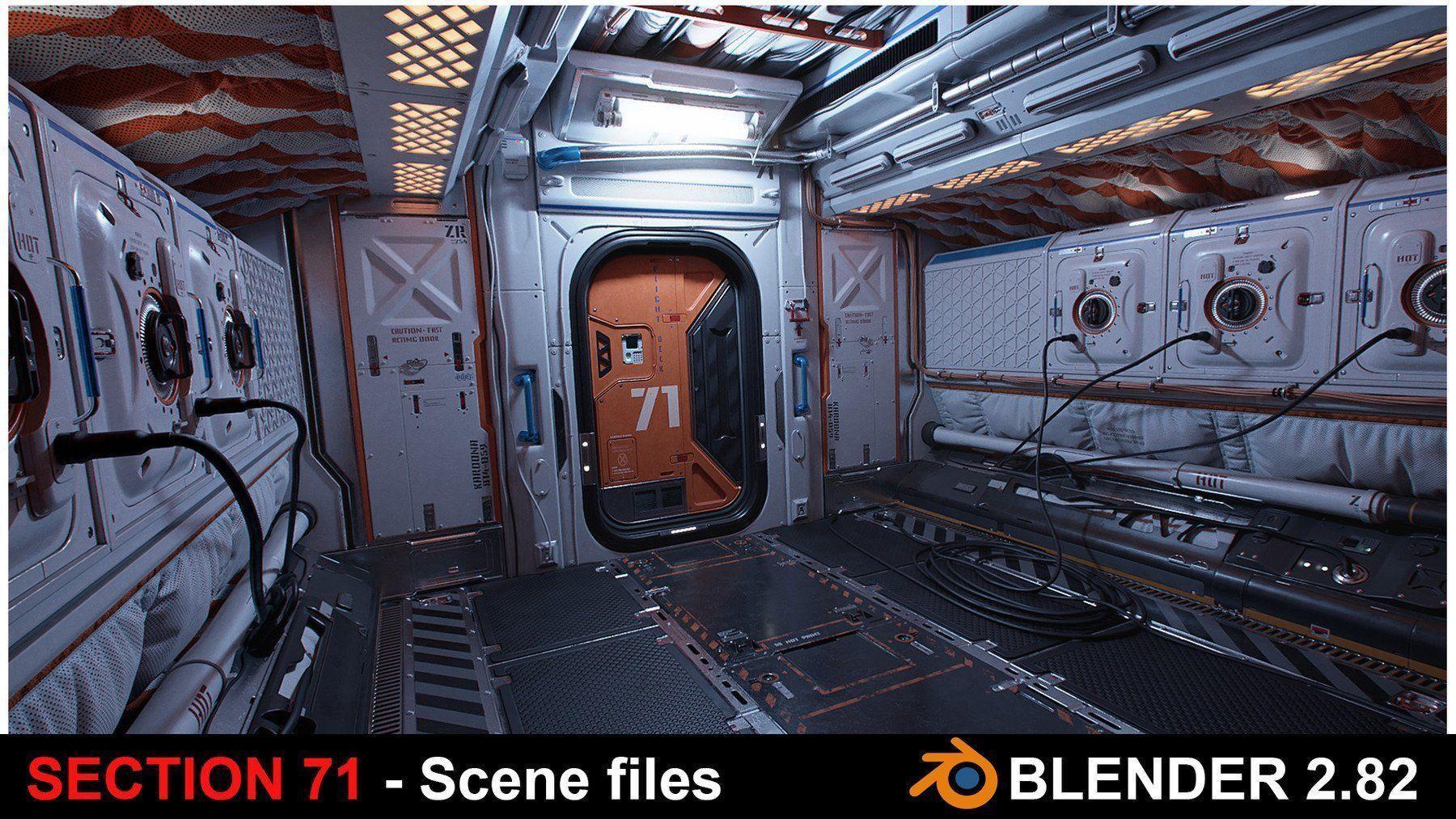 Section 71 - Scifi corridor