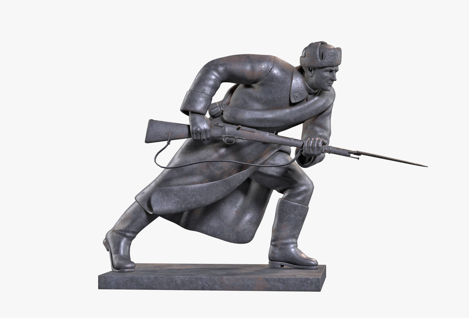 Infantryman Sculpture