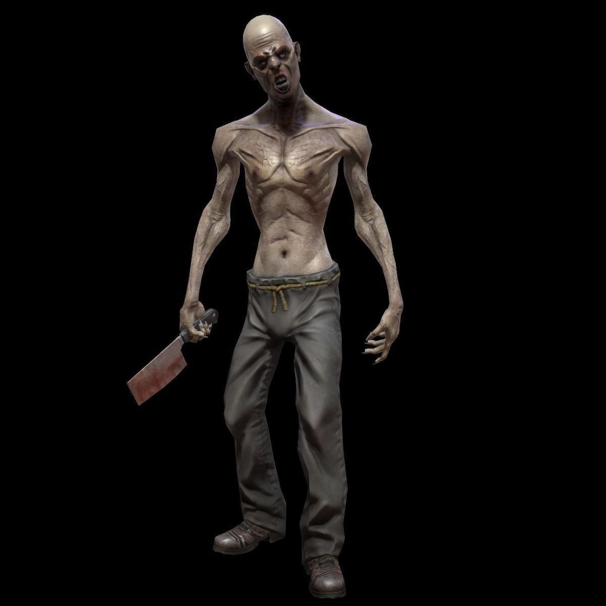 Character Zombie 3D asset | CGTrader