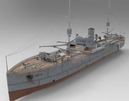 U S S Vestal 3D Model