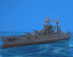 U.S.S Arizona 3D Model