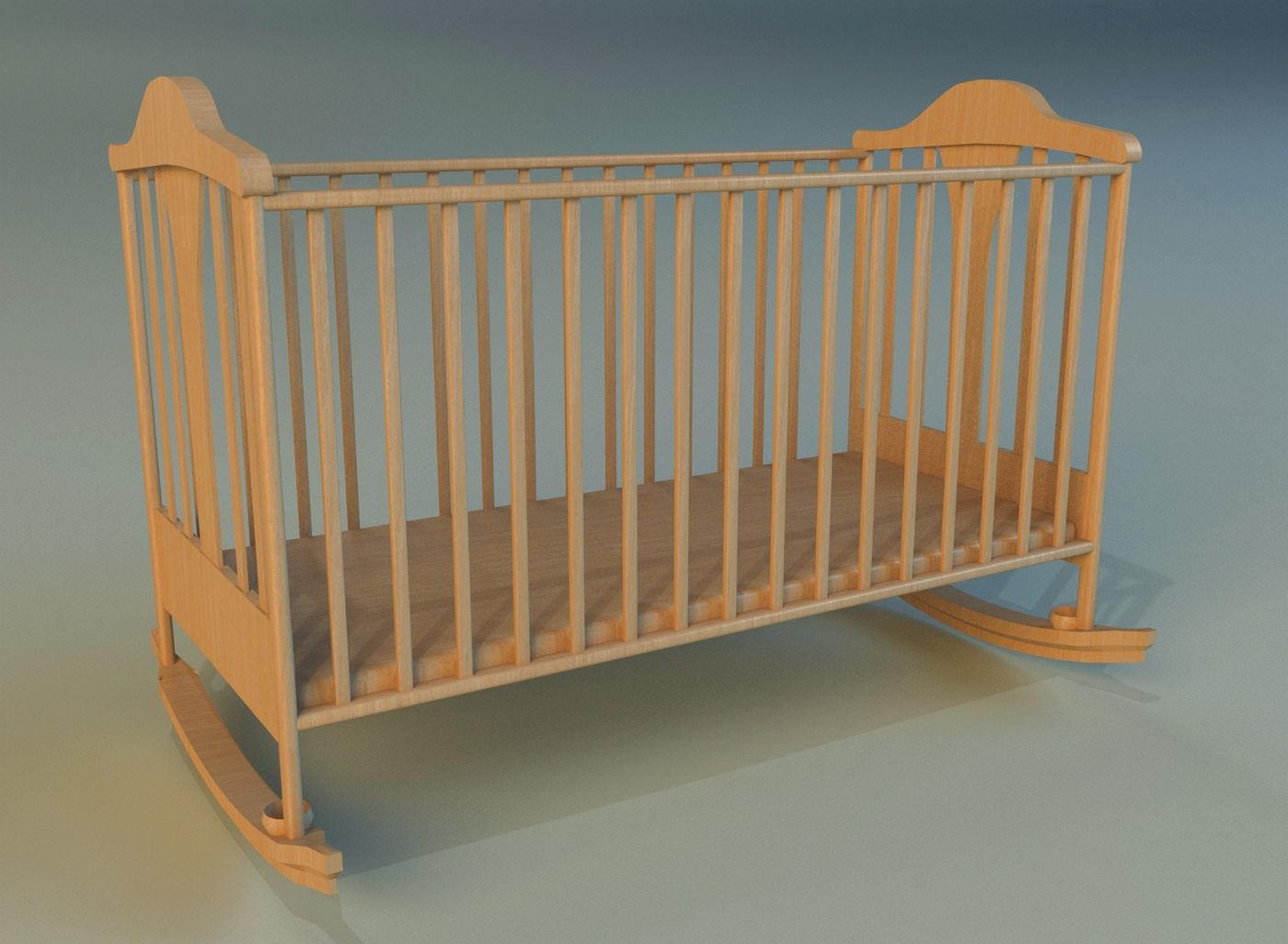 Cot baby bed