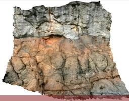 3D model Volcanic rock scenario II