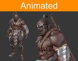 Character Orc 3D Model