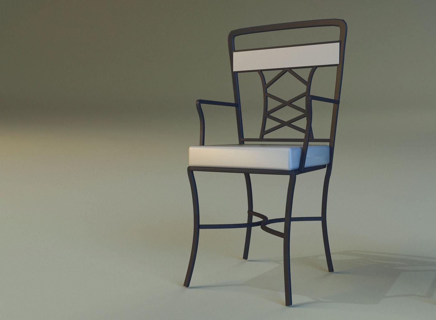 156 1 description comments 0 chair metal kitchen 3d model metal