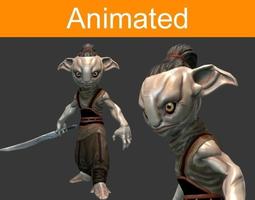 Character Forest Guard 3D asset