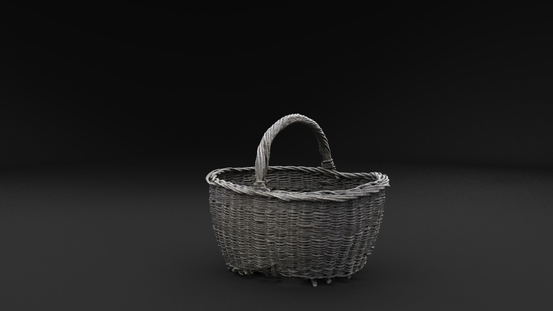 Scanned Old Basket RAW SCAN