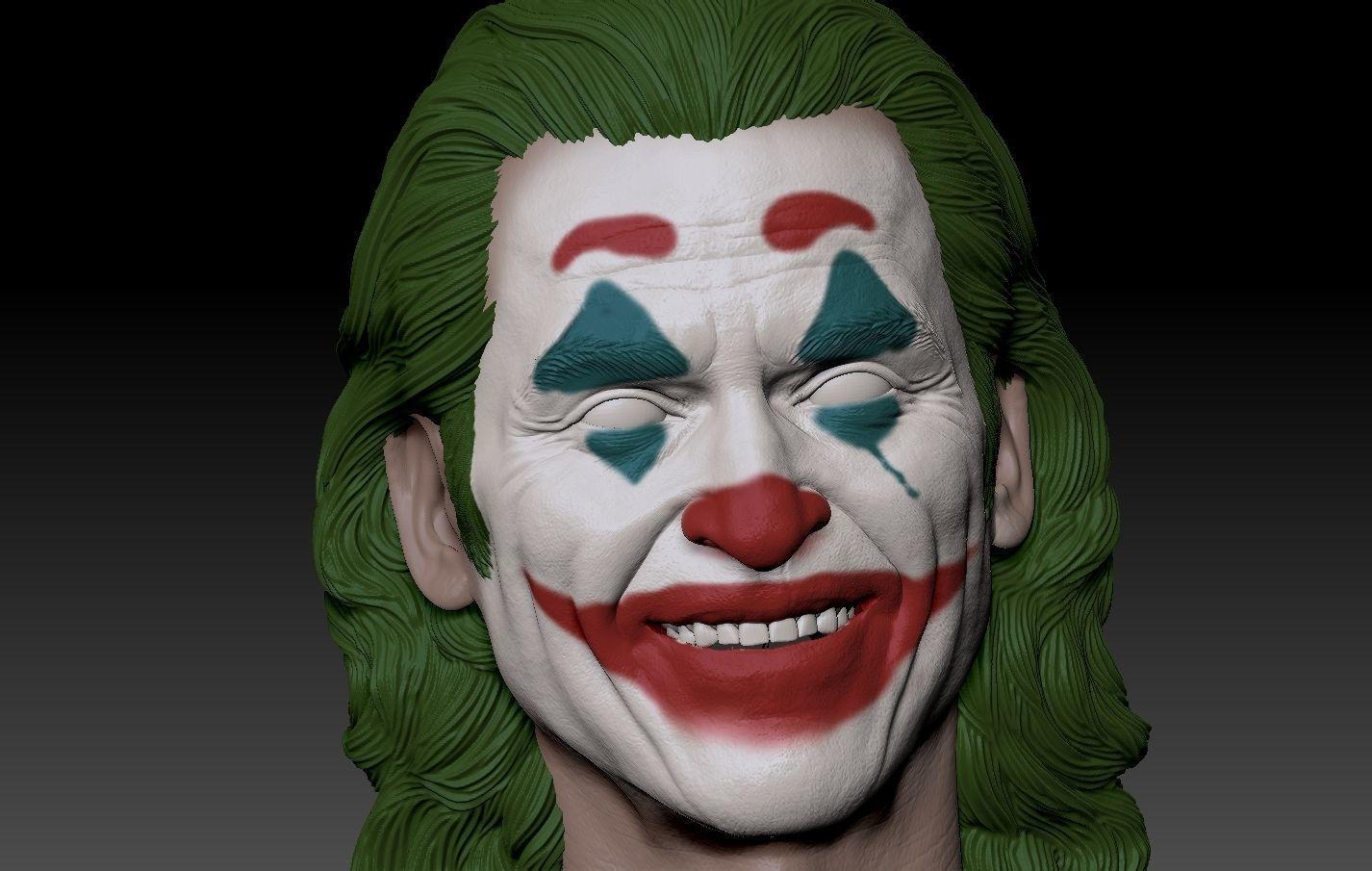 Joker 2019 Smile head Joaquin Phoenix