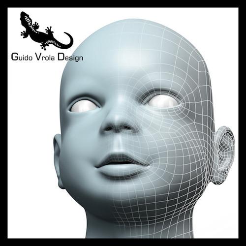 Baby Head3D model