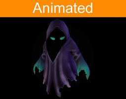 Character Ghost 3D Model