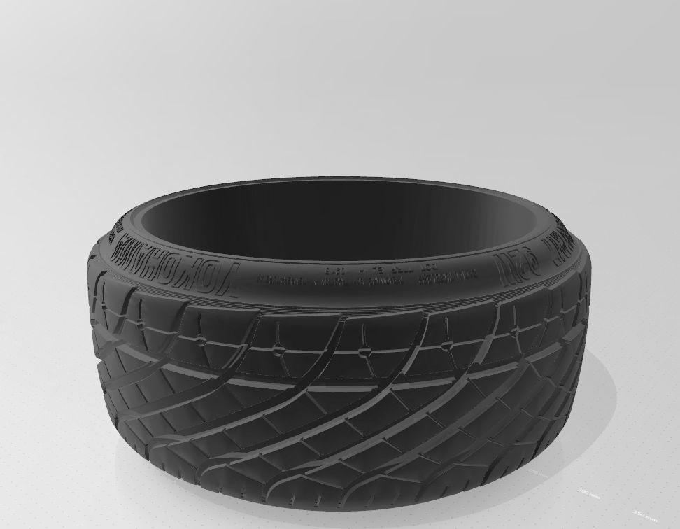 Yokohama Parada r17 Strech tire Super detail - 8J and 9J