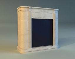 fireplace 4 3d model