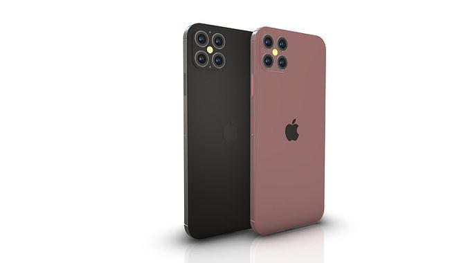iPhone 12 Pro Element 3D and C4D