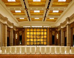 Banquet Hall 3D Model