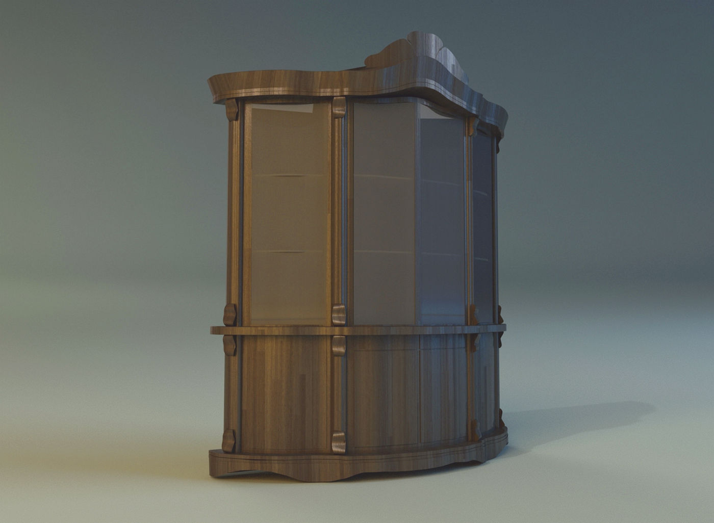 Sideboard 3d model max obj fbx for Sideboard 3d