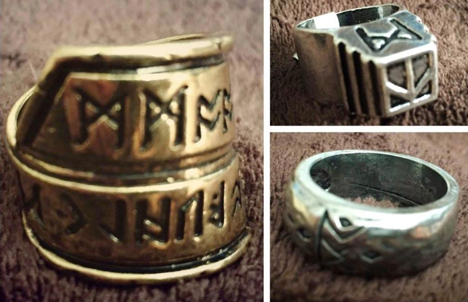 Thorin Rings The Hobbit Movie CosPlay Decorations
