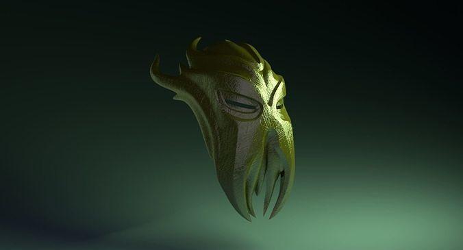 Miraaks Mask STL