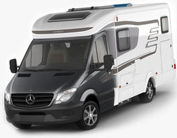 Hymer ML-T 580 motorhome 3D Model