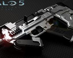 halo 5 smg  3d printable model