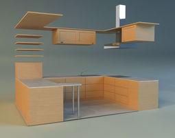 kitchen 10 3d