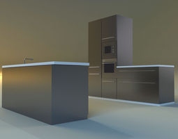 3D model lower Kitchen