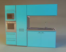 kitchen 3 3d model