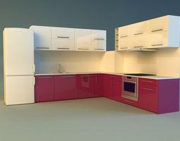 kitchen 6 3d model